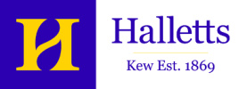 W. Hallett and Co. logo