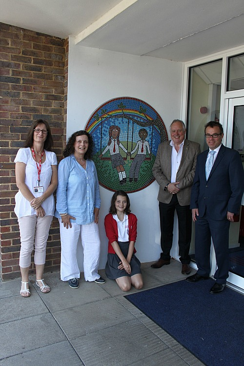PUPIL'S £1,000 WIN CREATES ART LEGACY FOR CHILWORTH SCHOOL