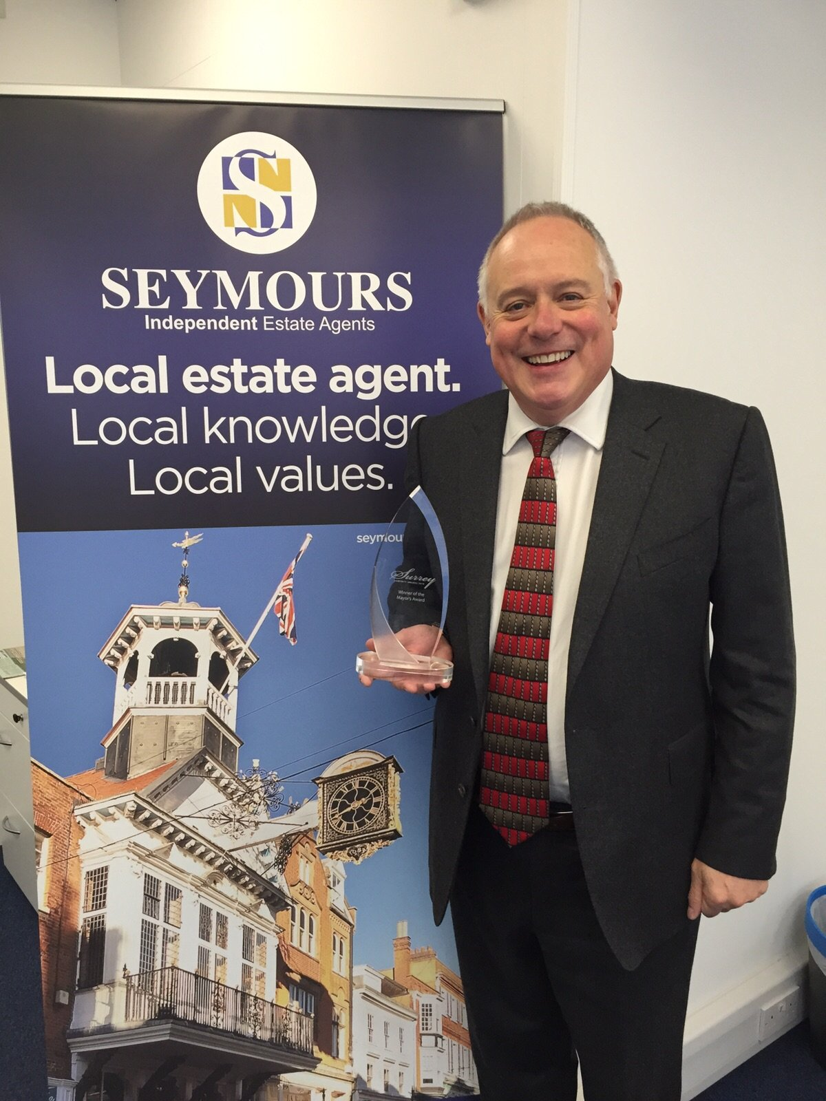 SEYMOURS AWARDED THE MAYOR'S SEAL OF APPROVAL