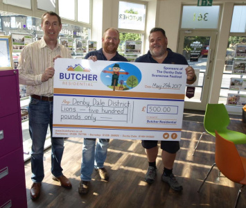 Butcher Residential Sponsor Denby Dale Scarecrow Trail