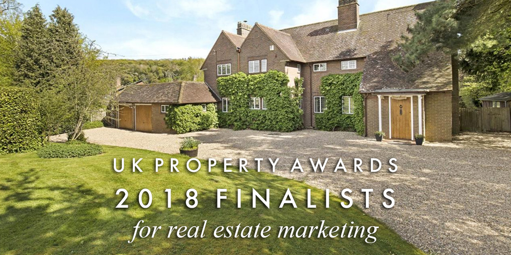 We're finalists at the UK Property Awards 2018