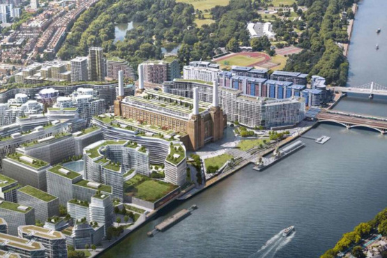Apple in Battersea Power Station move