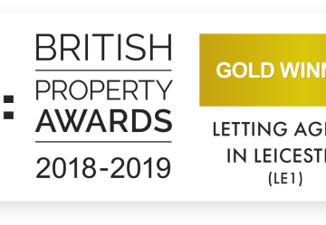 James Sellicks Lettings have won The British Property Award for Leicester (LE1)