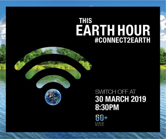 Earth Hour #Connect2Earth