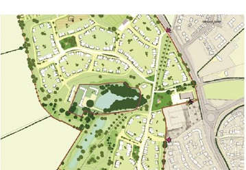 Plan to build up to 320 homes and community centre on former Banbury farm approved