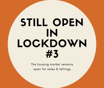 The UK Housing Market Remains Open in Lockdown 3